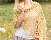 BRIDGES WRAP Crochet Pattern