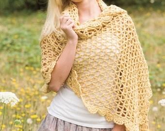 BRIDGES WRAP Crochet Pattern