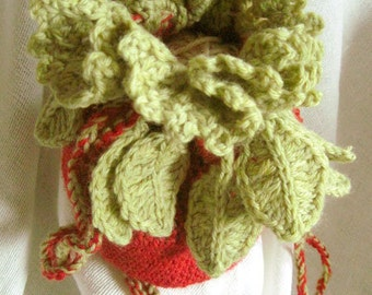 Leaf Bagette Crochet Pattern