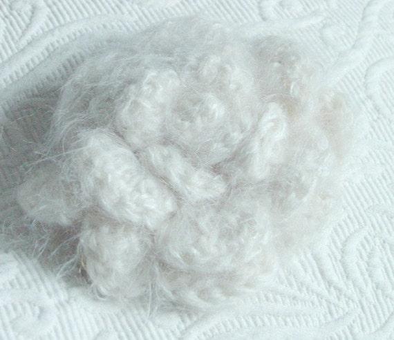 White Rose Brooch