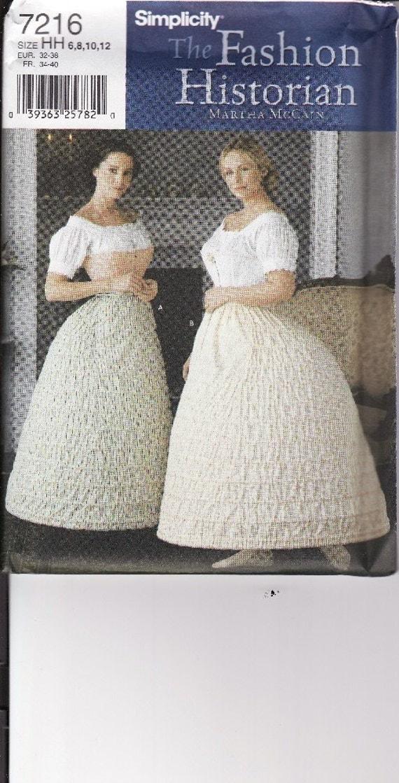 Hoop Skirt Pattern 58