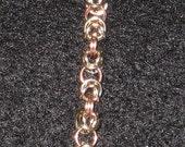14K Rose and White Gold Filled Bracelet