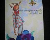 Original OSWOA, Altered Art, Collage, Earth Love