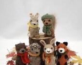 Wee Woodland Wuzzies Knitting Pattern