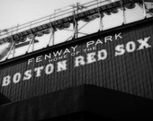 Home of the Red Sox - 5x7 Black and White Photographic Print