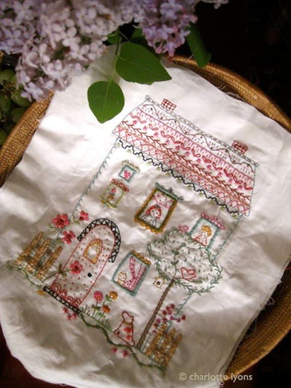 barney park stitching sampler