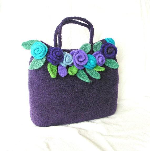 Crochet Bag Felt Pattern : Unavailable Listing on Etsy