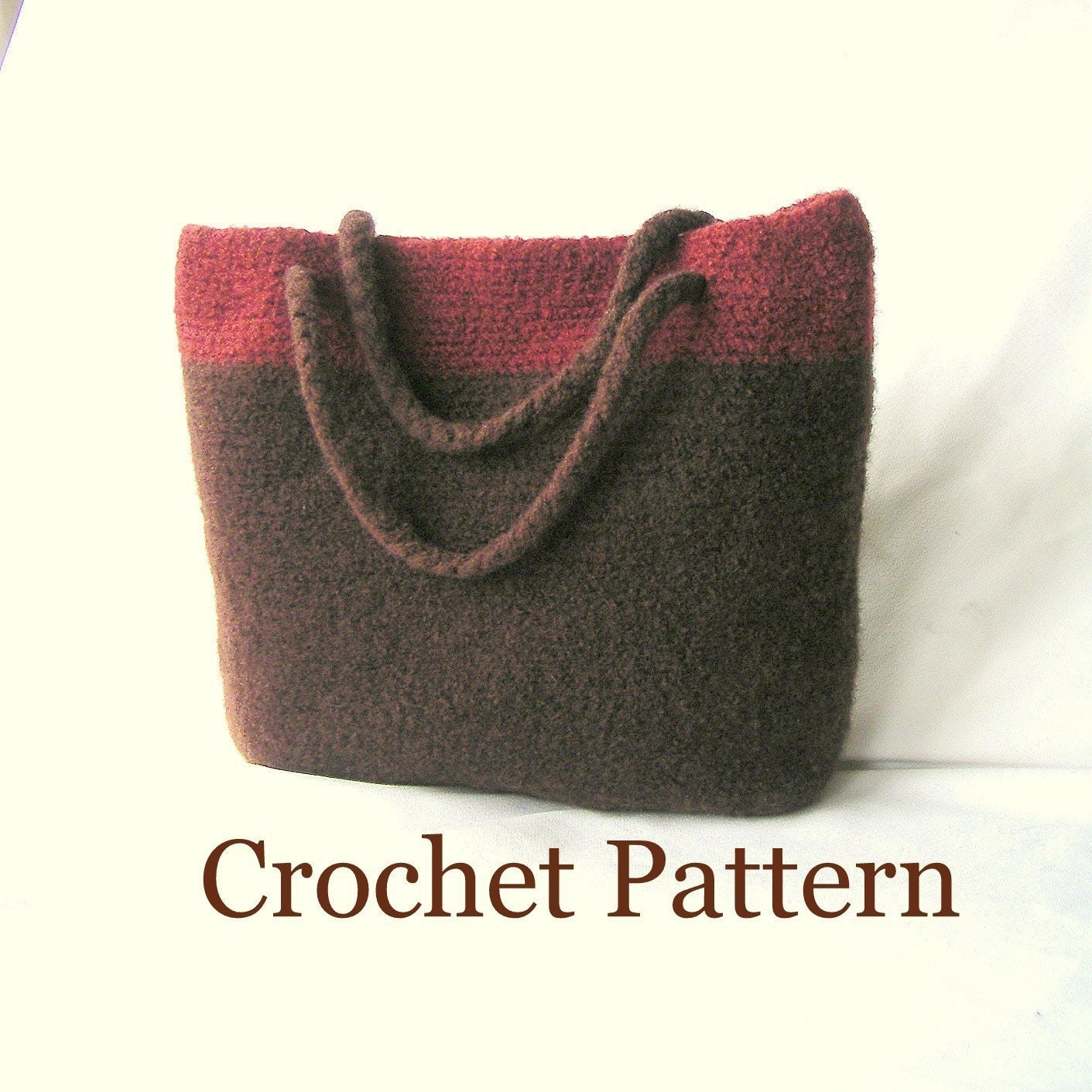 Easy Felted Crochet Bag Pattern : How to make Crochet Bag Pattern Tutorial, Simple Crochet ...