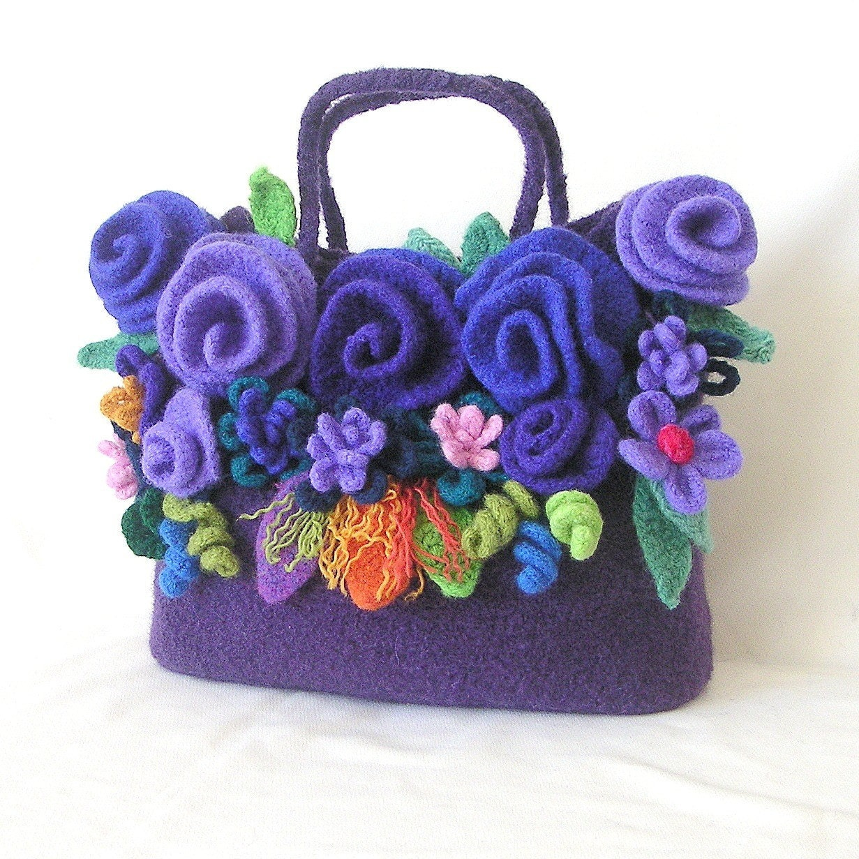 Crochet Felted Tote Bag Pattern : Unavailable Listing on Etsy