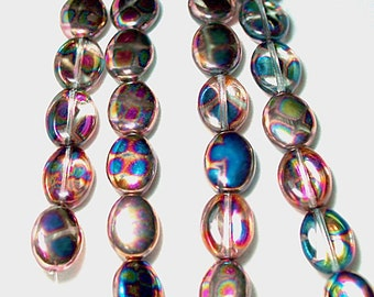 Illumination- Czech pressed glass beads