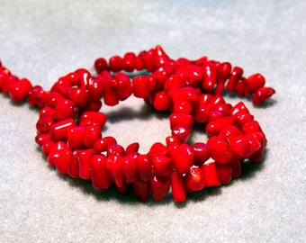 Bamboo Coral Nuggets- beads