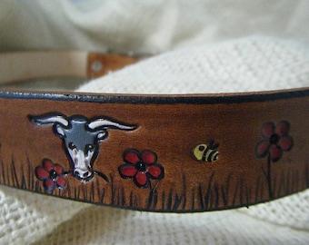 Dog Collar Leather - Ferdinand - Dog Collar - Bull