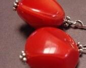 Lovely Red Earrings