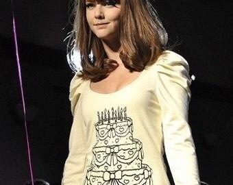 Creme Cake Dress MADE TO ORDER