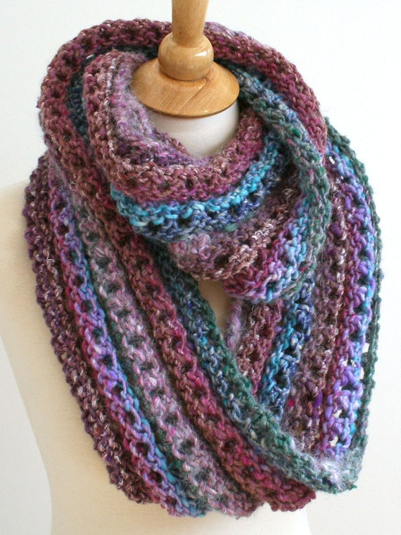Digital PDF Knitting Pattern for Forever Cowl - DIY Fashion Tutorial - Instant Download - ENGLISH only