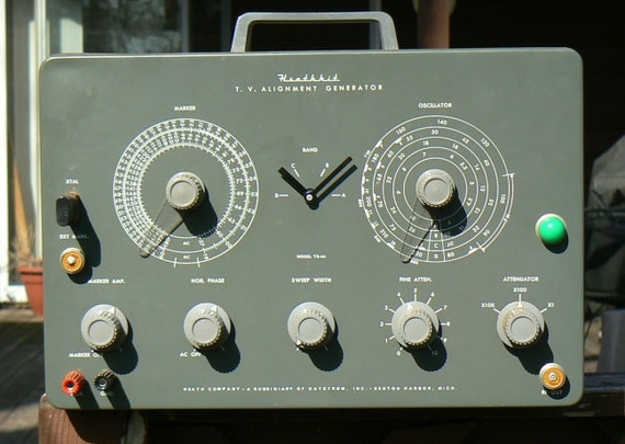 REserved - Heathkit T.V. Alignment TIME (Flux Capacitor TIME)