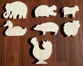 Wood Animal Puzzles