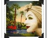 Greeting Card - Lagoon Lady