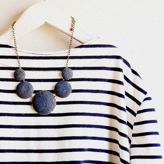 The Denim Necklace