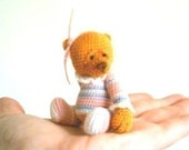 Amigurumi Pattern Crochet, Amigurumi Bear Crochet, Animal Crochet Pattern, Teddy Bear: TAFFIE Miniature Crochet Bear. PDF Instant Download.