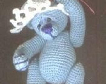 SASHA Thread Teddy Bear Crochet Pattern by Edith Molina. PDF Instant Download. Amigrumi.