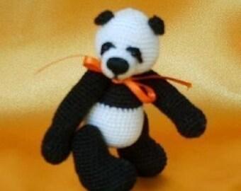 CHAPUR Thread Panda Crochet Pattern PDF / Crochet Animal. Edith Molina Bear ePattern. PDF Instant Download.