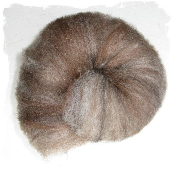 Batt - Hand carded Alpaca and CVM Wool - 2 ounces