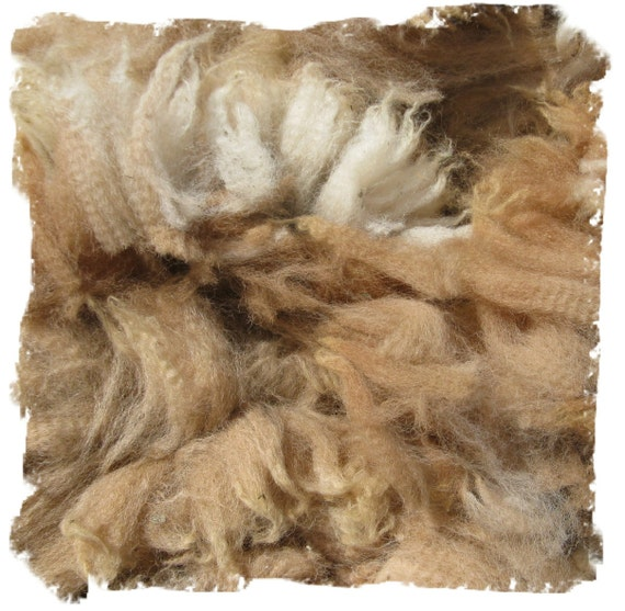 Beige Alpaca Neck Fleece from Hutch - 5 ounces