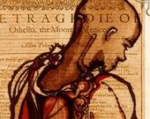 Othello Art Print - Shakespeare tragedy Folio Print