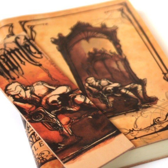 Shakespeare Hamlet Gift Set for Book Addicts - Shakespeare Leather Journal and Bookmark