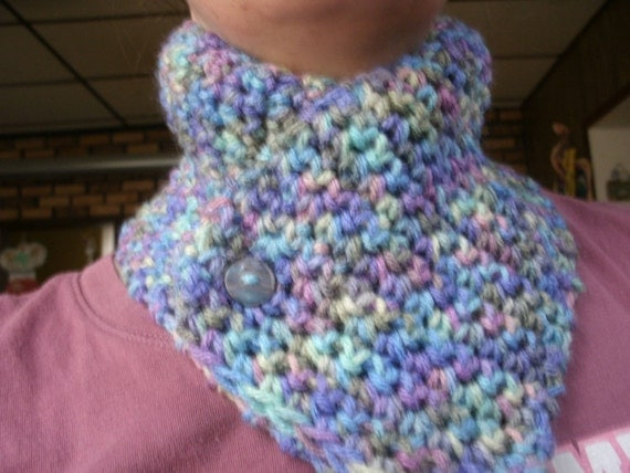monet neckwarmer with button
