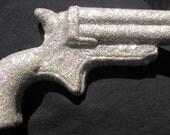 Quicksilver Silver Glitter Gun Death by Glitter