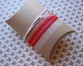 pillow gift box  red valentine