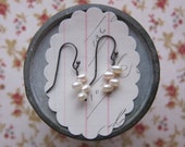 gifts for her elisha earrings white pearl sterling silver