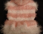 pet sweater -  made to measure for a perfect  fit - dog pet soft - warm winter dress