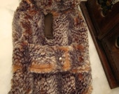 promotion MADE TO MEASURE  Faux fur  pet - dog warm winter coat