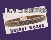 Basket Weave step by step Tutorial. instructions, how to, wire-wrapping.