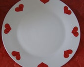 Valentine's plate