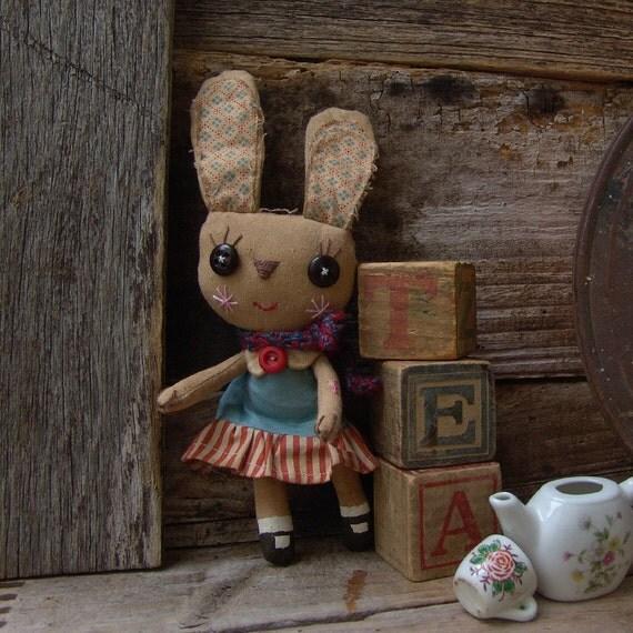 Alice, cute primitive style bunny