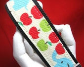 Wristlet Keychain Key Fob Apple Snack