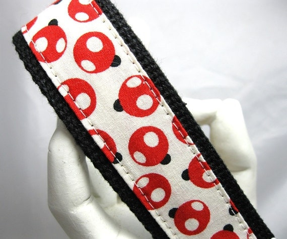Wristlet Keychain Key Fob Little Ladybugs