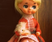 RESERVED Vintage Japan Pose Doll