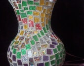Glitter Glass Mosaic Vase SALE