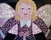 Mosaic Angel Wall Hanging