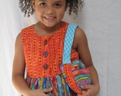 Wild and Wavy Dress, Purse and Bloomer Set