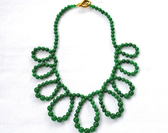 Flirty Necklace - Green