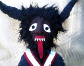 Xmas With Krampus Large Plushie Bowie