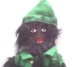 OOAK Little Bigfoot Jean Claude Plush Art Doll