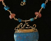 Egyptian Blue Pendant