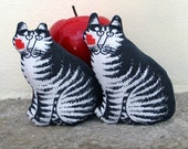 Two Catnip Pillow Toys  Homegrown Nip